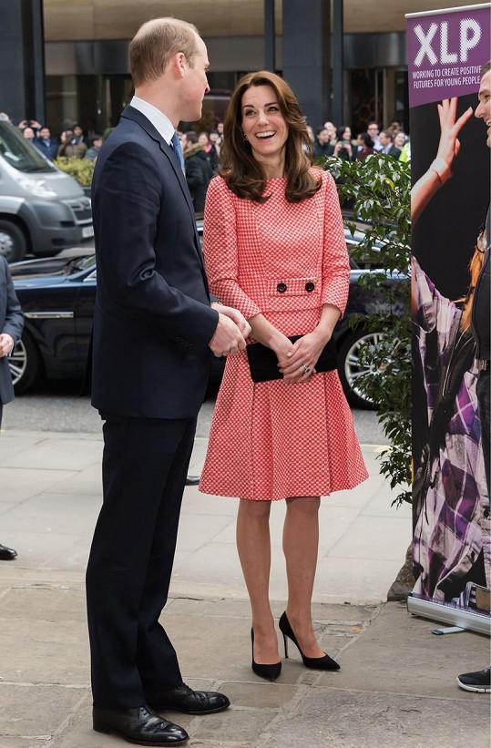Kate a William se zúčastnili jedné ze svých obvyklých povinností.