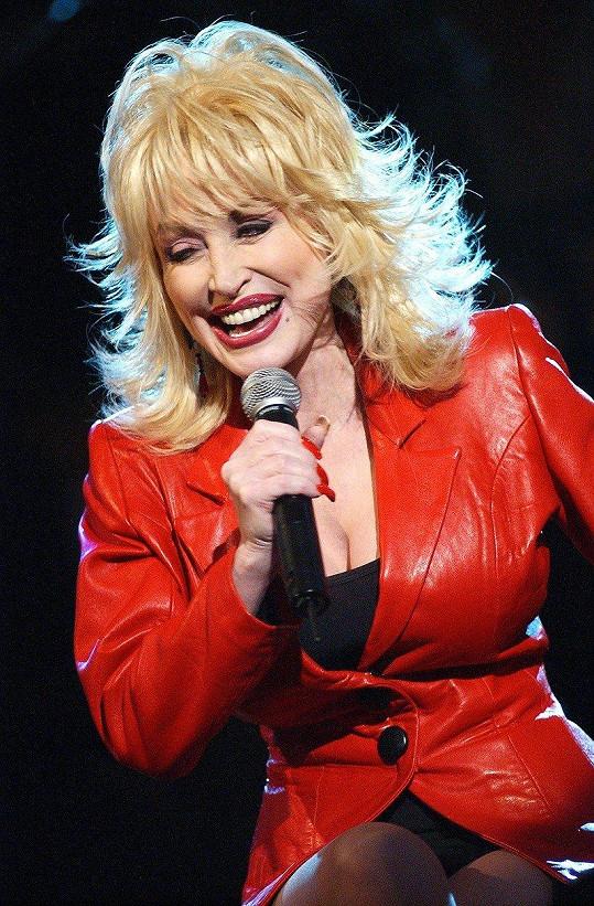 Dolly na koncertě v roce 2003
