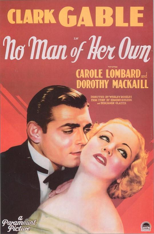 Carole a Clark si společně zahráli ve filmu No Man of Her Own (1932).