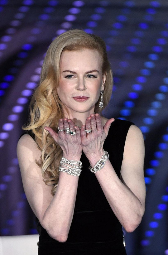 Herečka Nicole Kidman (49)