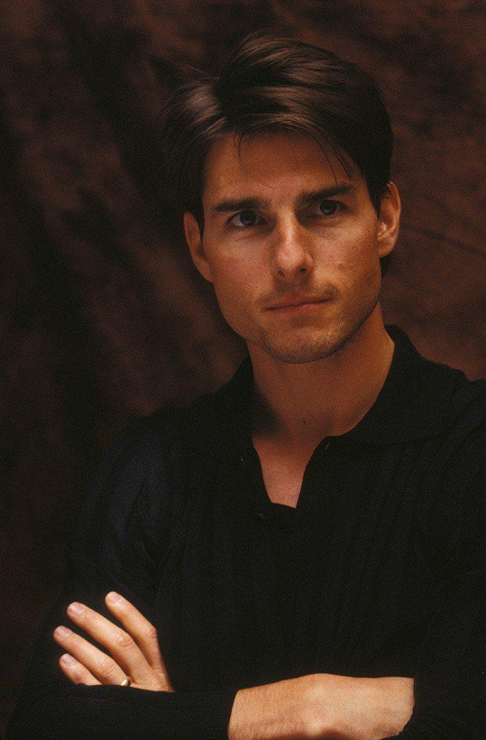 Tom Cruise na premiéře filmu Mission: Impossible (1996)