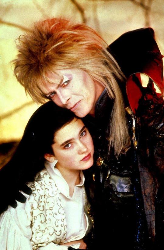Jennifer ve filmu Labyrint s Davidem Bowiem