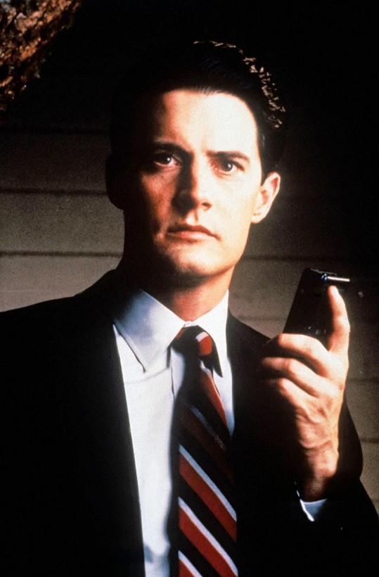 Kyle MacLachlan se proslavil coby agent FBI Dale Cooper v seriálu Městečko Twin Peaks.