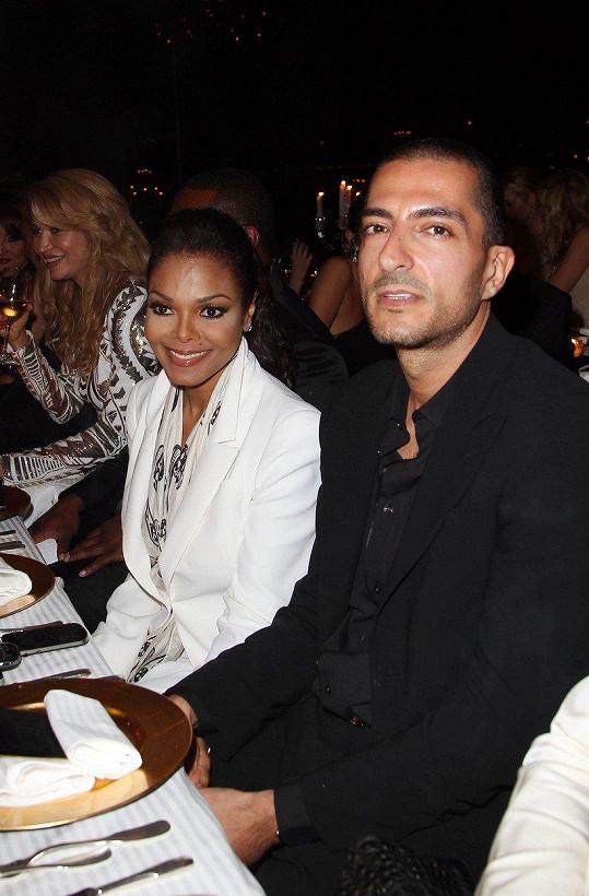 Janet Jackson a Wissam Al Mana se rozešli měsíc po narození syna Eissy.