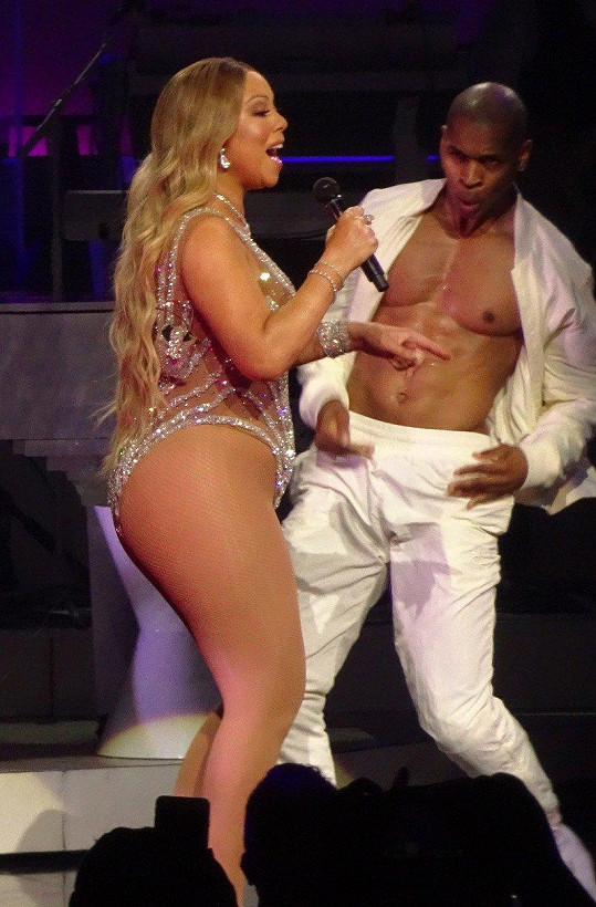 Mariah na koncertě v Las Vegas