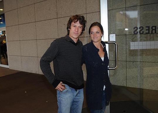 Na koncert se přišel podívat i Martin Kraus s přítelkyní.