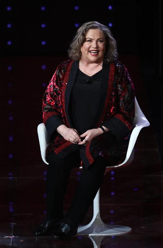 Na začátku května byla Kathleen hostem v italské televizní show Nejlepší léta.