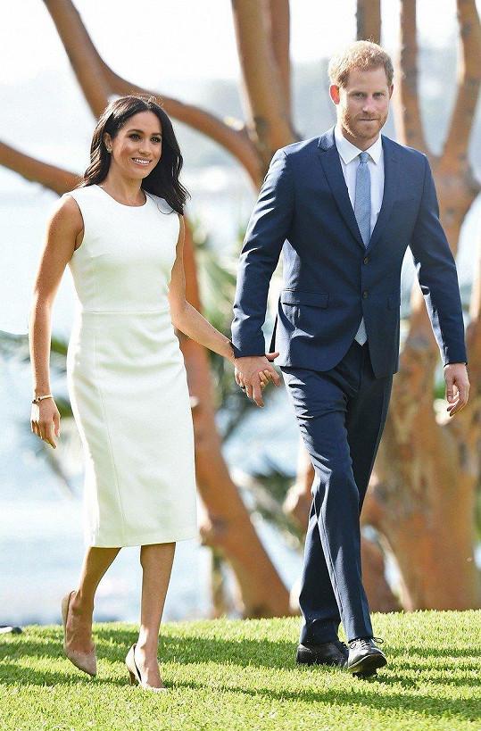 S manželkou Meghan na oficiální návštěvě u protinožců.