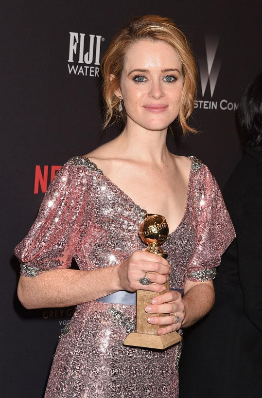 Claire Foy bodovala se seriálem The Crown.