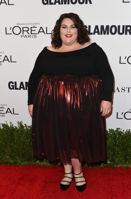 Chrissy Metz je opravdu gigantická.