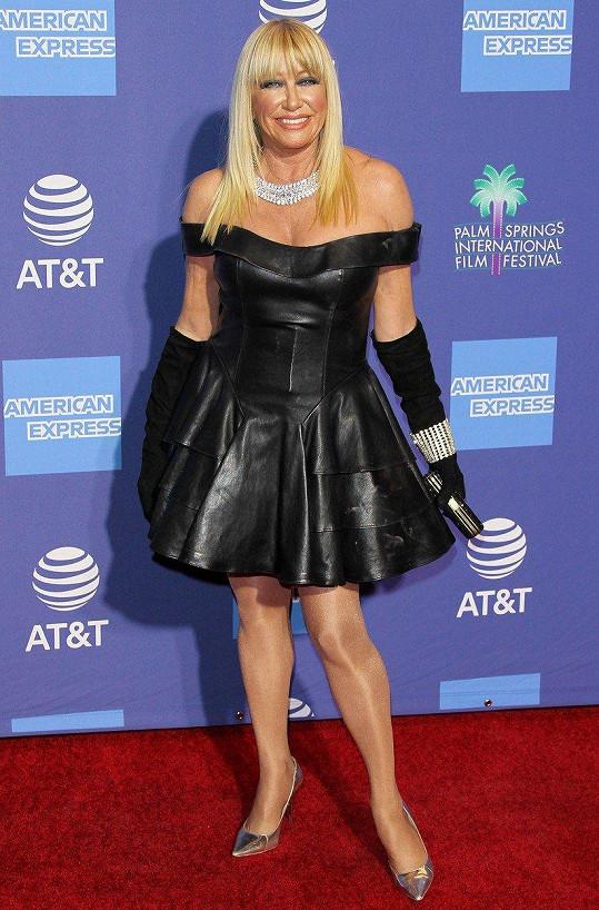 Suzanne Somers na filmovém festivalu v Palm Springs