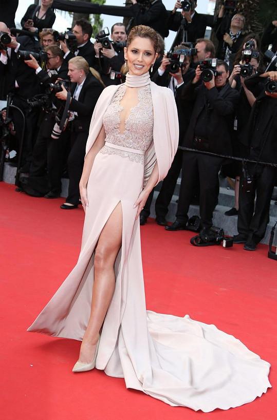Cheryl Fernandez-Versini na letošním festivalu v Cannes