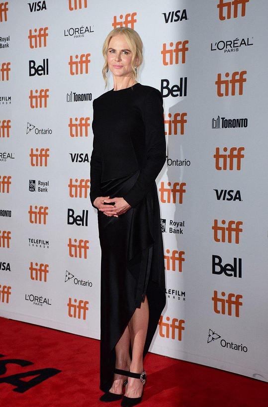 Nicole Kidman přijela na torontský filmový festival s filmy Destroyer a Boy Erased. Foto z uvedení druhého zmíněného.