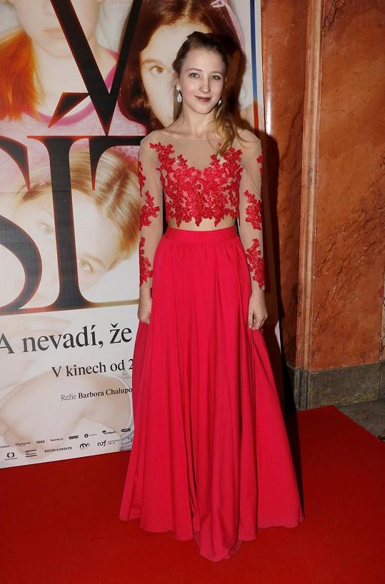 Sabina Dlouhá ztvárnila postavu dvanáctileté dívenky ve snímku V síti, který režírovali Vít Klusák a Barbora Chalupová.