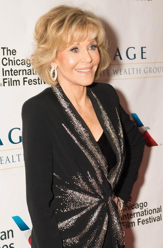 Jane na filmovém festivalu v Chicagu v červenci tohoto roku
