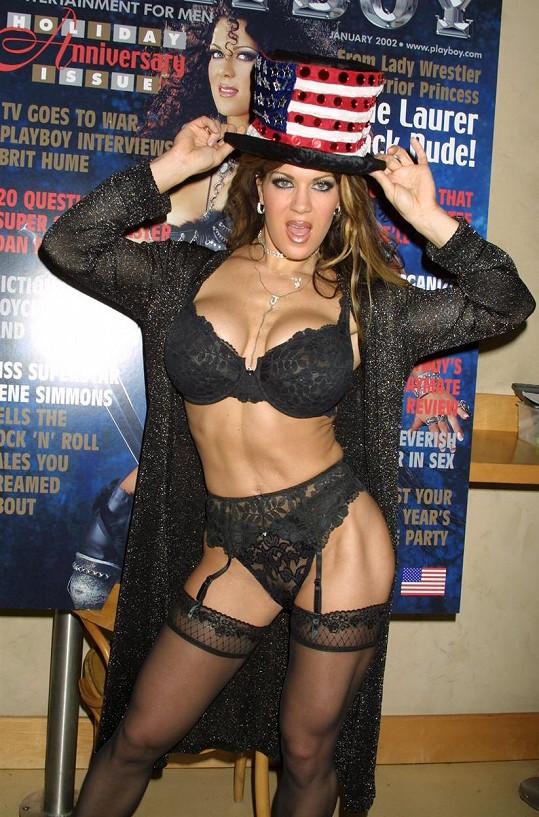 Chyna byla hvězdou wrestlingu.