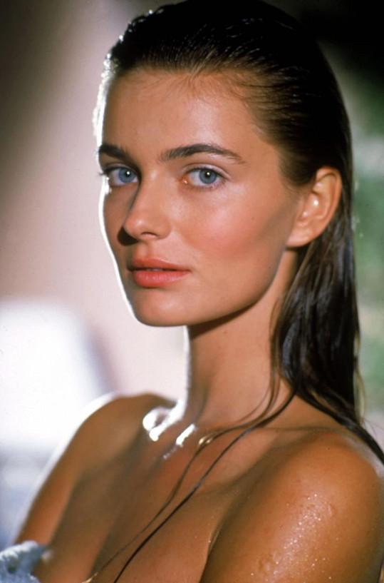 Pavlína Pořízková v roce 1989, kdy byla její kariéra v rozpuku.