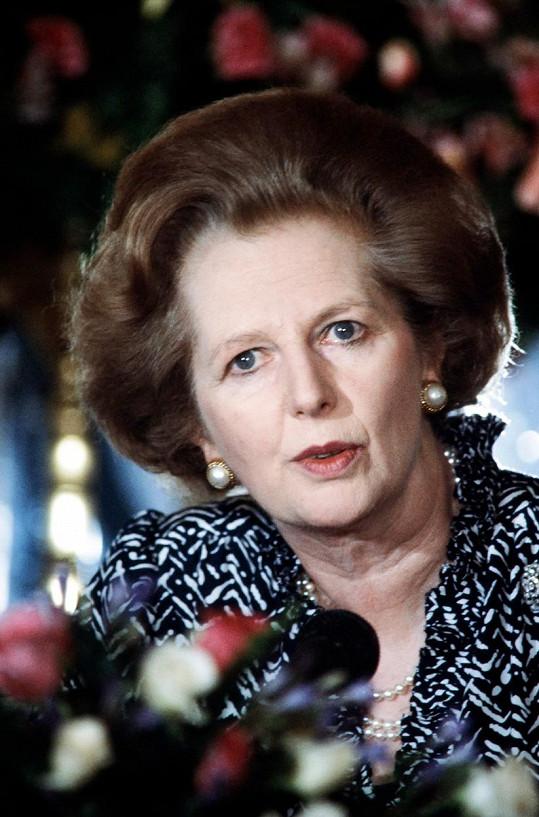 Margaret Thatcherová na snímku z roku 1986