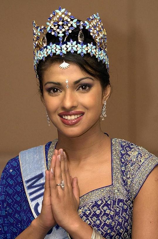 V roce 2000 vyhrála Priyanka titul Miss World.