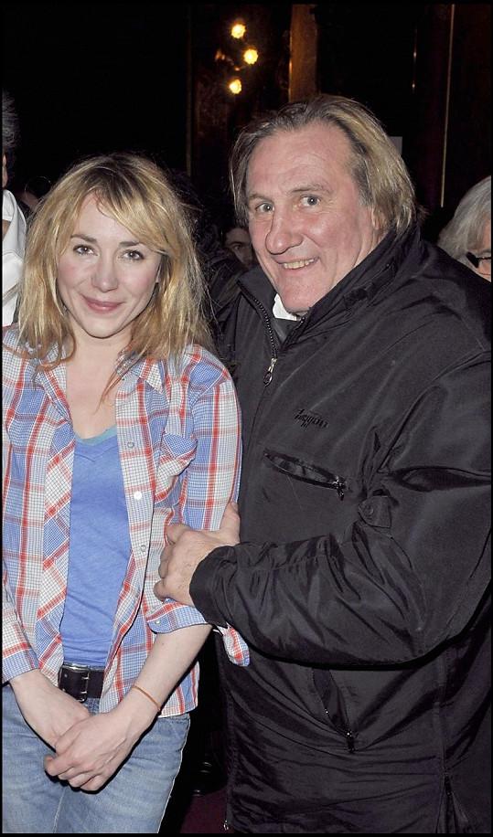 Gerard a Julie Depardieu