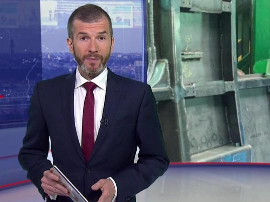 Jakub Železný je moderátorem ČT a synem žurnalisty, politika a podnikatele Vladimíra Železného.