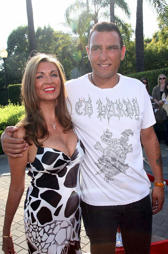 Vinnie a Tanya na fotce z roku 2007