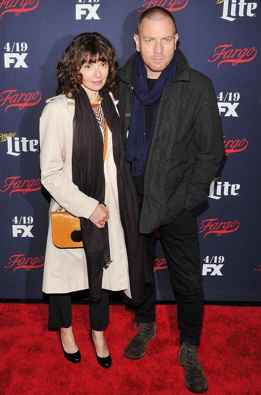 Ewan McGregor s manželkou Evou