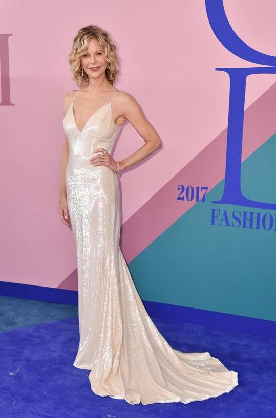 Meg Ryan na CFDA Fashion Awards 5. června 2017