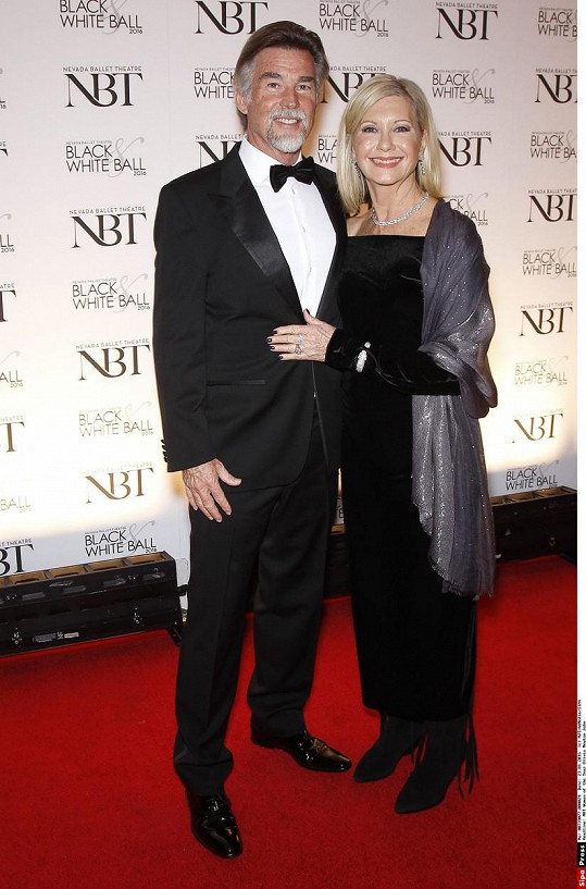 Olivia Newton-John s manželem Johnem Easterlingem