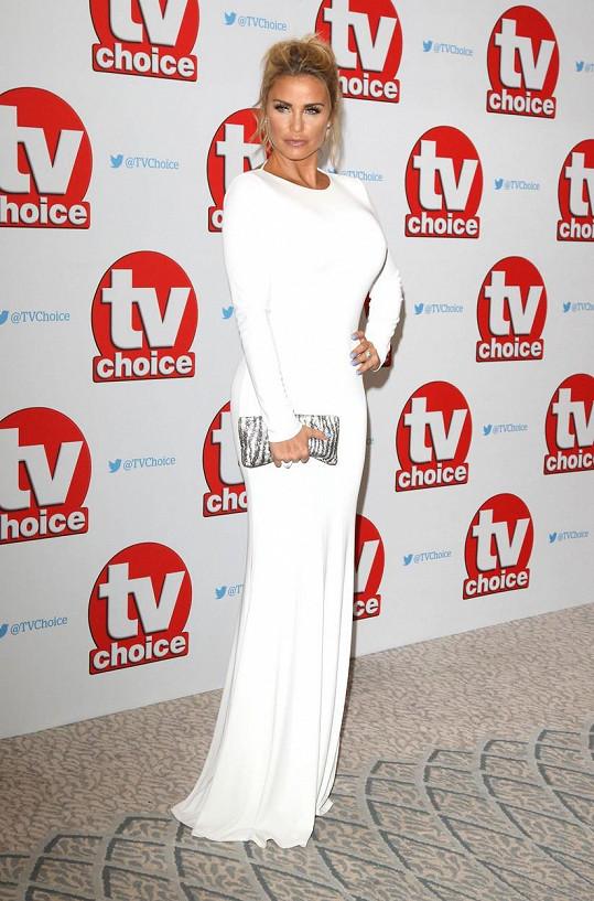 Katie Price na cenách TV Choice