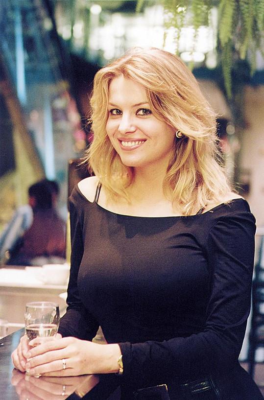 Jana Štefánková v roce 2000