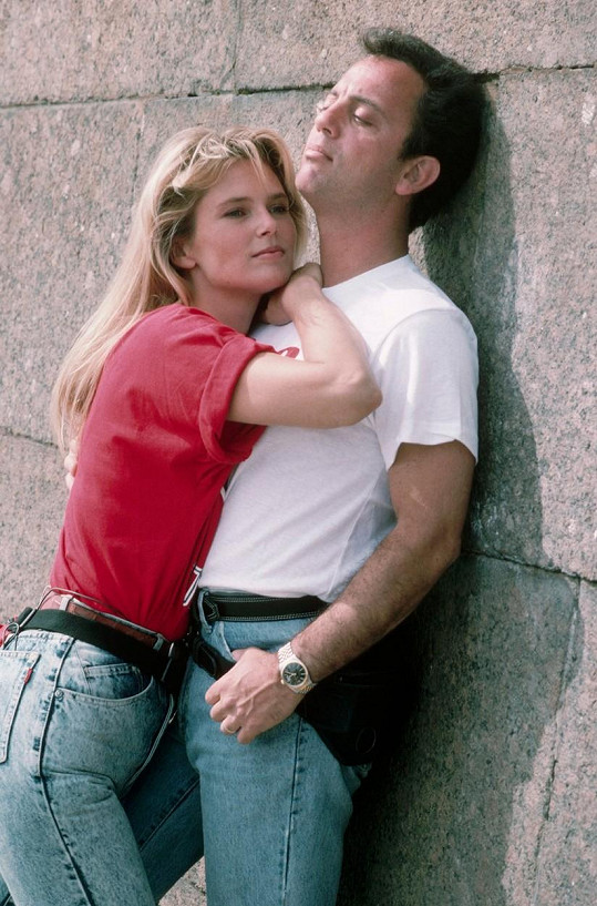 Billy Joel se svou druhou manželkou Christie Brinkley