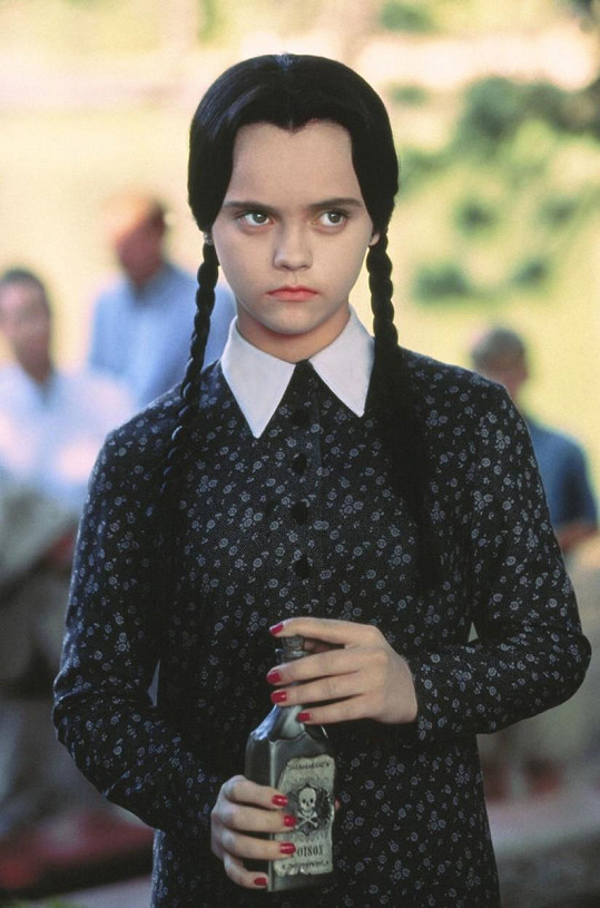 Christina Ricci ve filmu Addamsova rodina (1991)