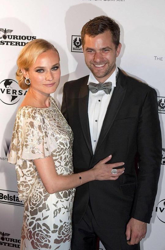 Diane Kruger a Joshua Jackson už netvoří pár.