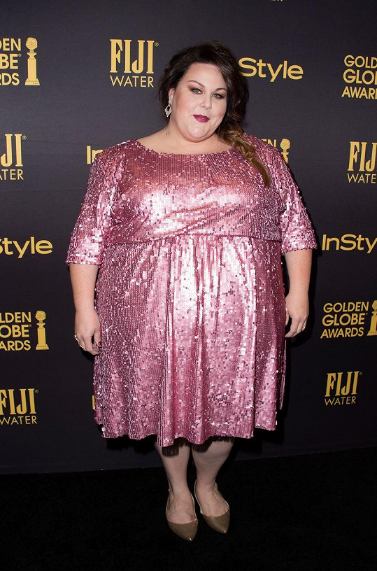 Chrissy Metz se nenechá při oblékání svým tělem omezovat.