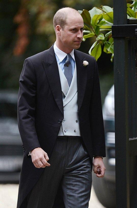 Na svatbě nechyběl ani princ William.