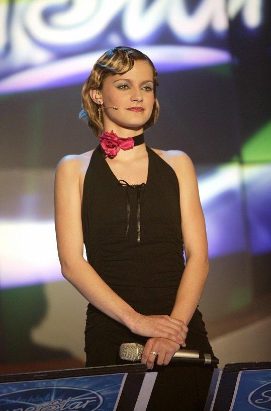 Šárka Vaňková v Česko hledá SuperStar (2004)