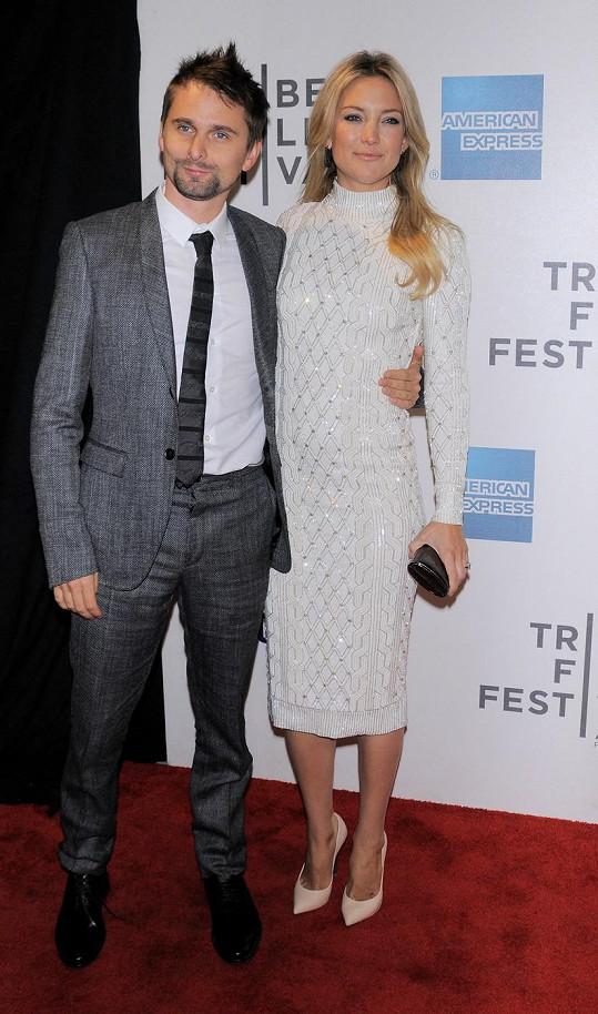 Kate Hudson už s Matthewem Bellamym netvoří pár.