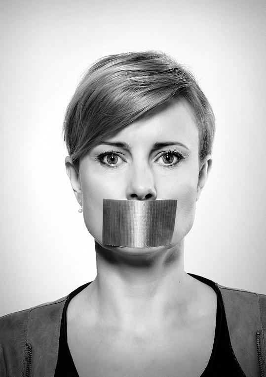 Jitka Schneiderová se zapojila do kampaně proti domácímu násilí