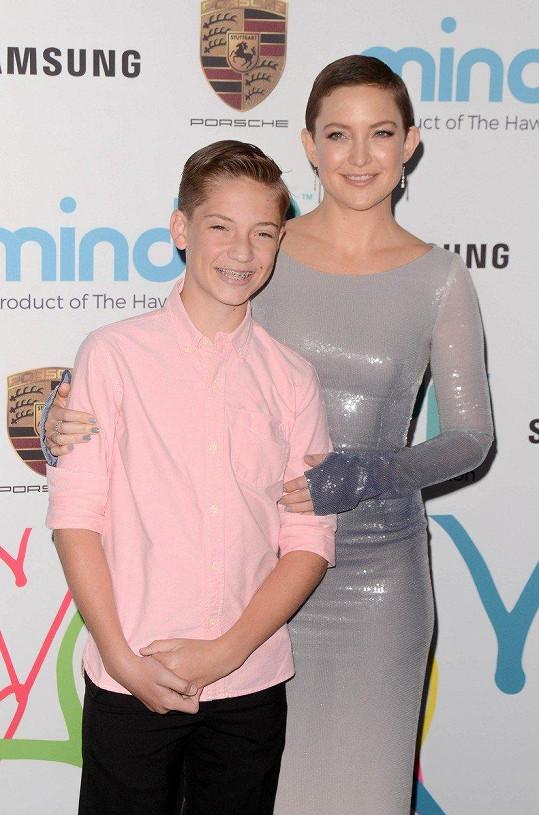 Kate Hudson se synem Ryderem