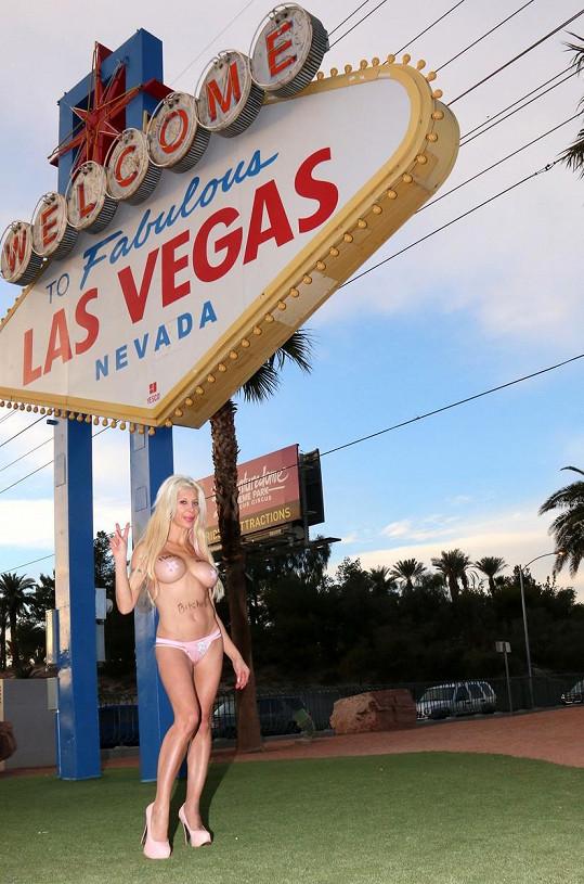Tentokrát strašila v Las Vegas.