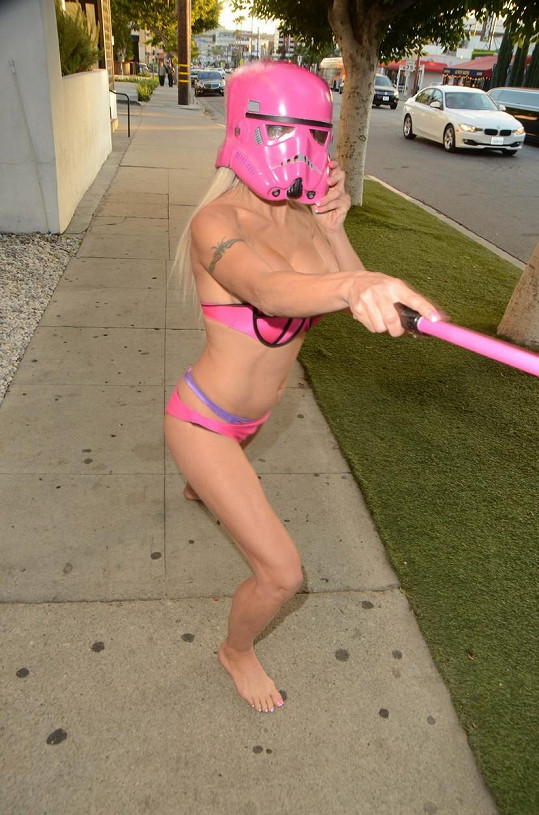 Hvězda reality show Big Brother si představovala, že je hrdinkou Star Wars.