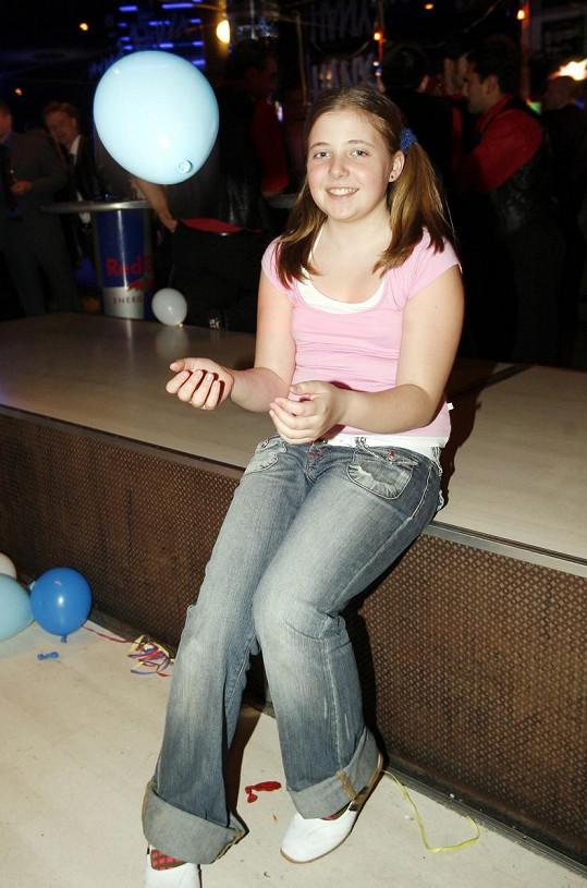 Anička v roce 2006