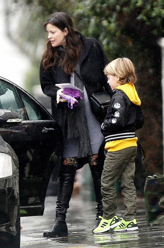 Herečka je již maminkou desetiletého Mila.