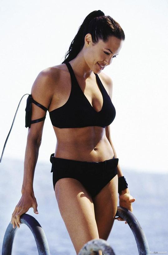 Jako Lara Croft byla pekelně sexy.
