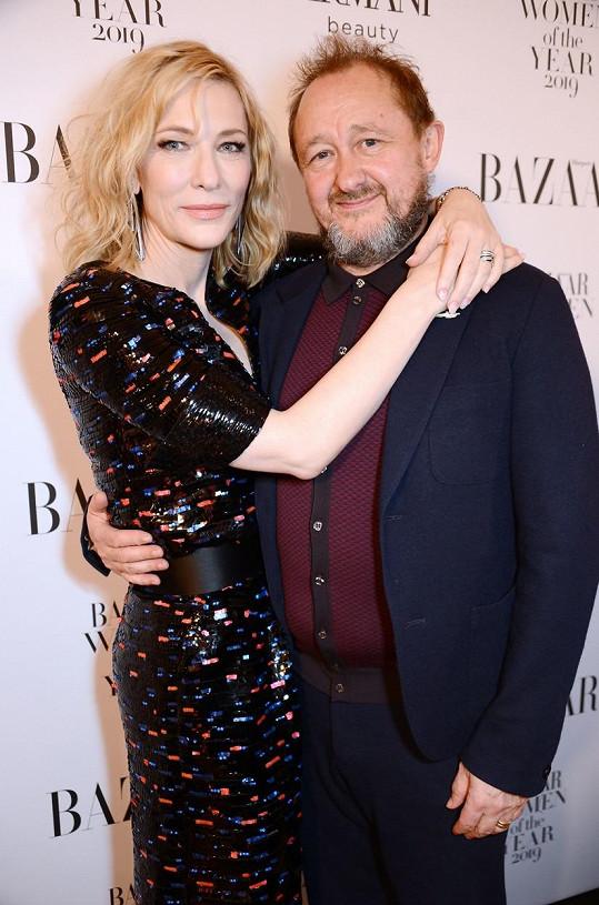 S manželem Andrewem Uptonem