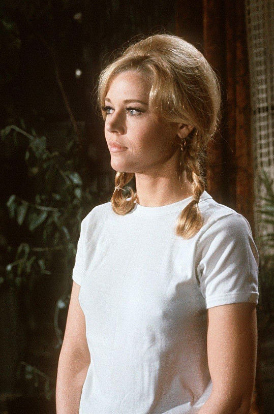 Jane Fonda zahájila kariéru filmem Tall Story (1960).