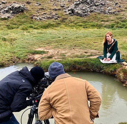 Film s názvem Fanga natáčela americká produkce na Islandu.