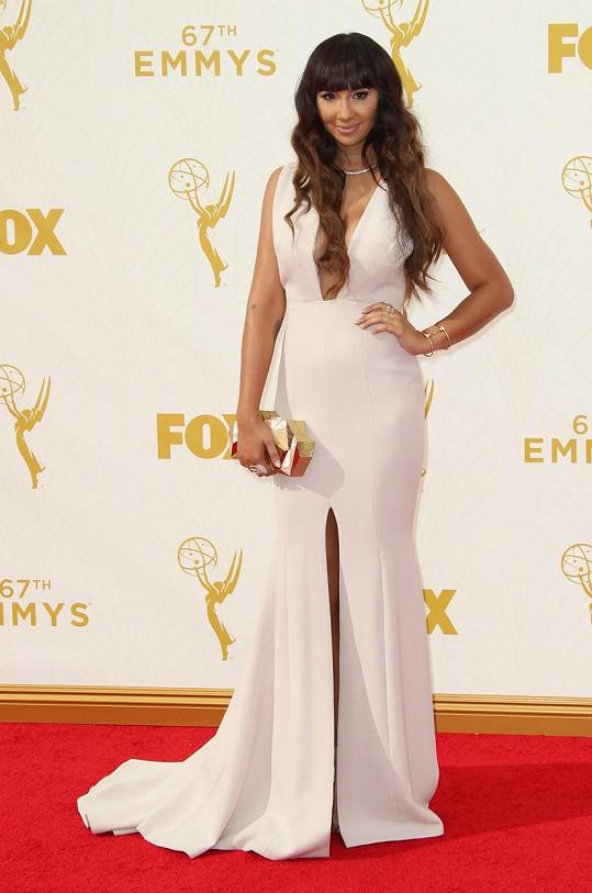 Na udílení cen Emmy se neztratila.