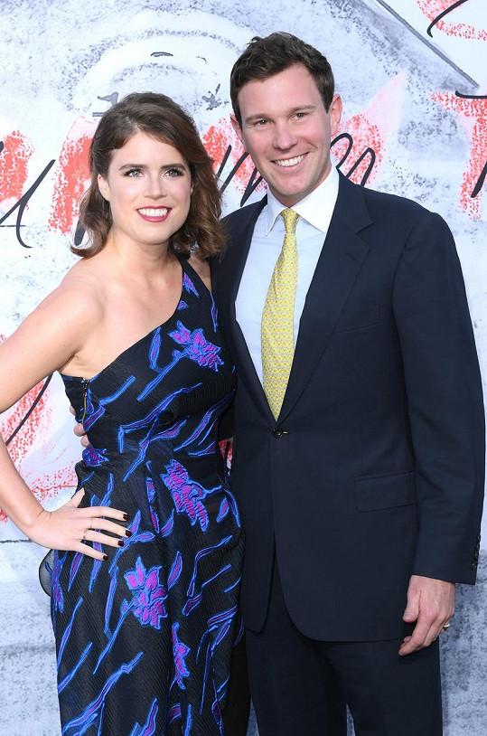Princezna Eugenie a její manžel Jack Brooksbank se stanou rodiči.